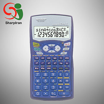 عکس ماشین حساب شارپ SHARP مدل EL-531WH
