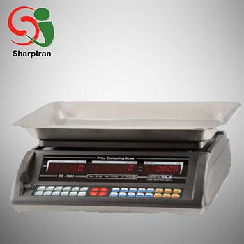 عکس ترازو فروشگاهی 30 کیلویی قطعه شمار مدل DS-7003C