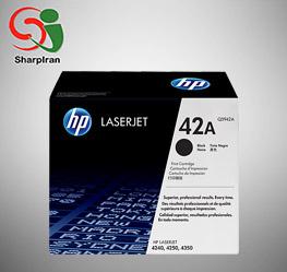عکس کارتریج پرینتر لیزری HP 42A