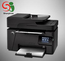 عکس پرینتر لیزری چهار کاره مدل HP LaserJet 127fw Printer