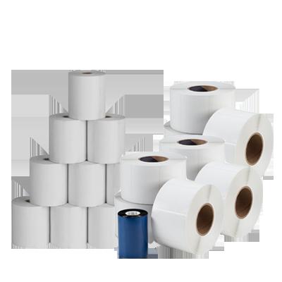 عكس مواد مصرفی فروشگاه Roll Paper Lablebarcode