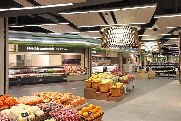 طراحی سوپر مارکت