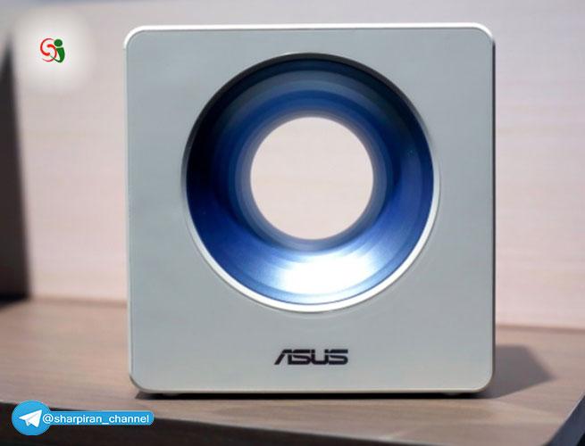 اطلاعات و تصویر روتر بسیار زیبا شرکت ایسوس Asus