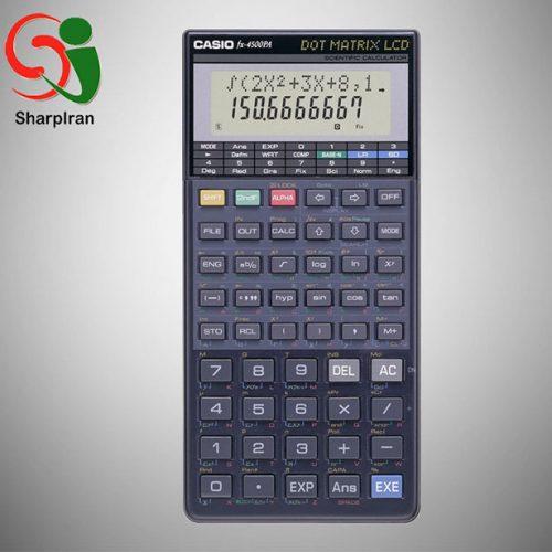 ماشین حساب علمی مهندسی برنامه پذیر Casio مدل FX-4500 PA