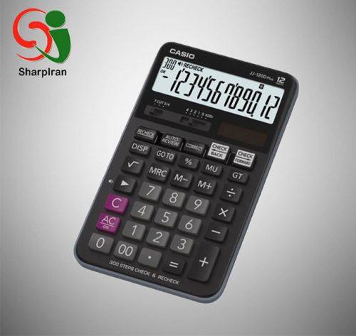 ماشین حساب کنترل و تصحیح Casio مدل JJ-120D PLUS