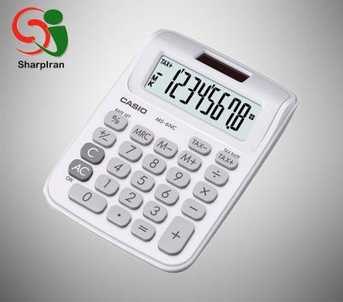ماشین حساب رومیزی Casio مدل MS-6 NC