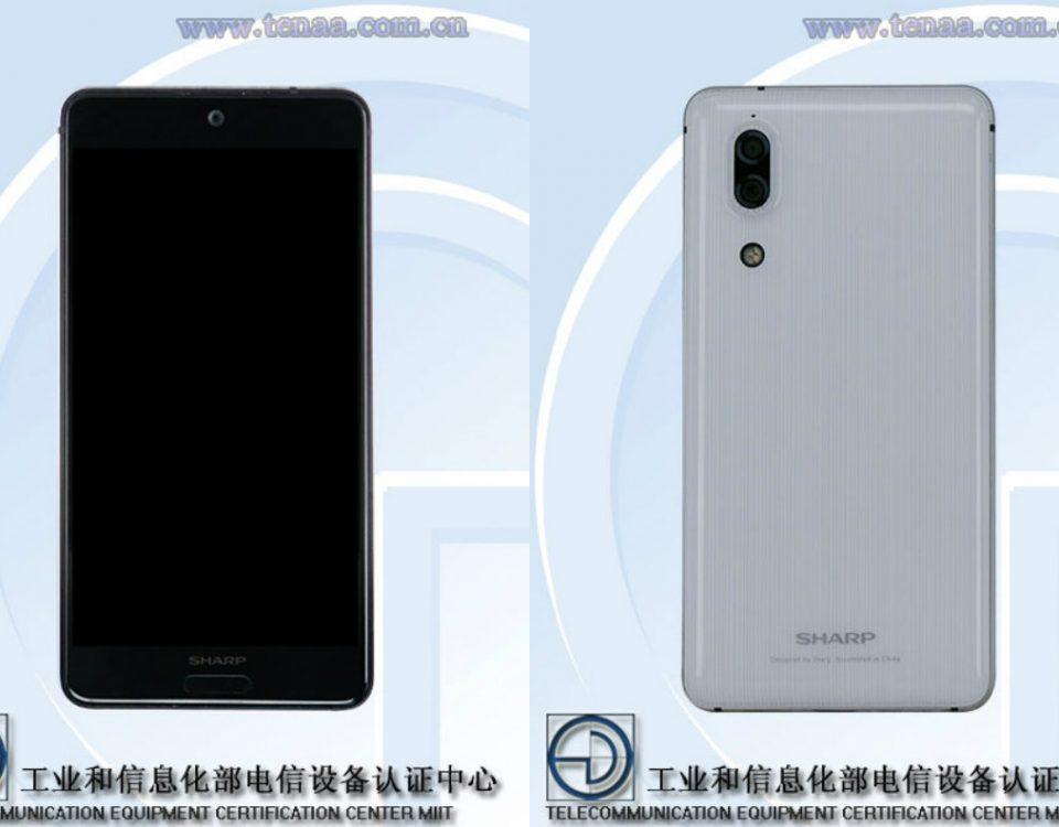 تصاویر و اطلاعات گوشی هوشمند شارپ FS8008