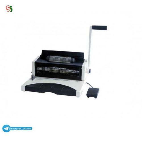 معرفی دستگاه سیمی کن(صحافی) 9080